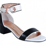 Peeptoe Shoes Miss Golden State (Black & White) $219.00 -30% off = $153.30