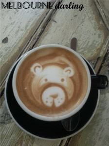 Teddy Bear Latte Art
