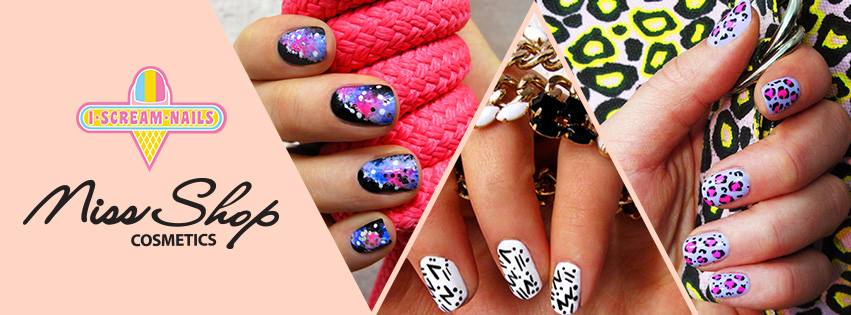 I Scream Nails For Miss Shop Cosmetics Nail Art Masterclass