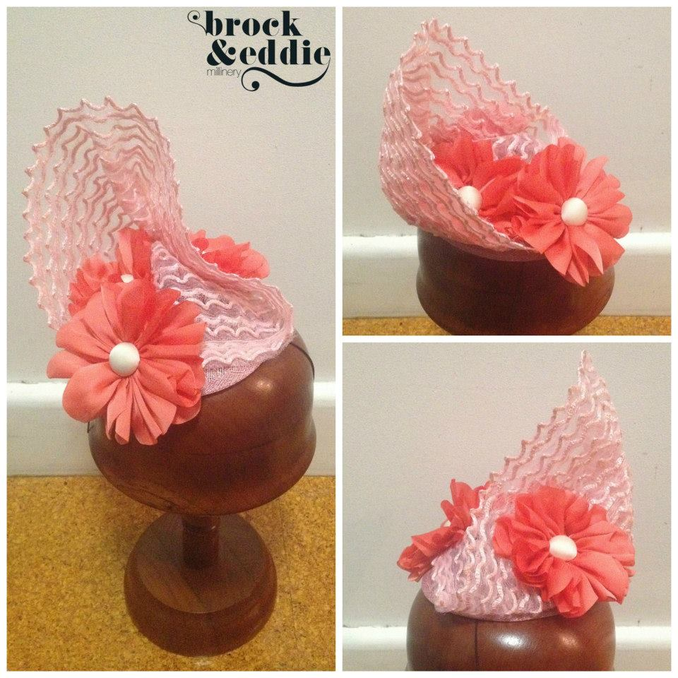 Brock & Eddie Millinery. Available here.