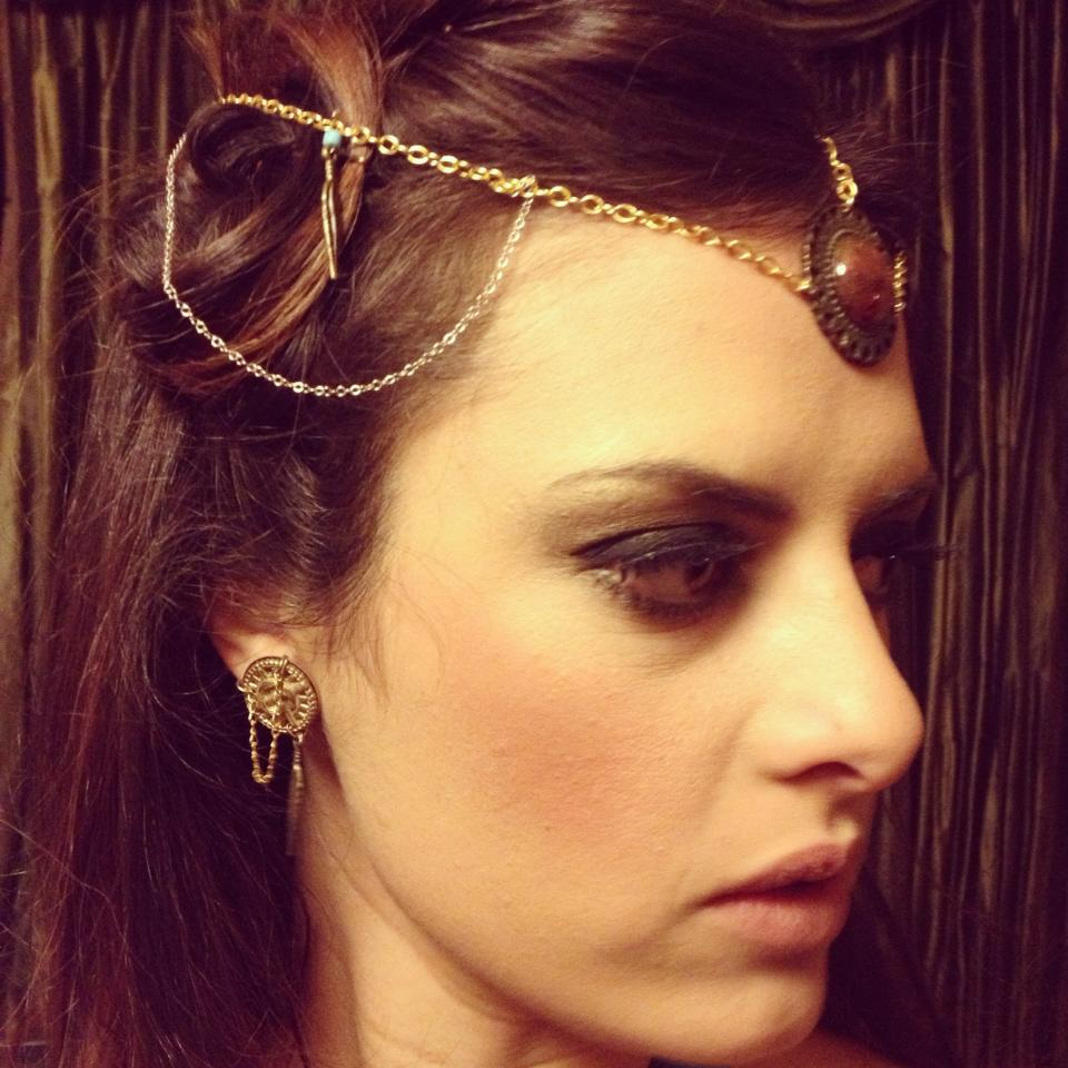 Horus and Harper Headpiece. Available here.