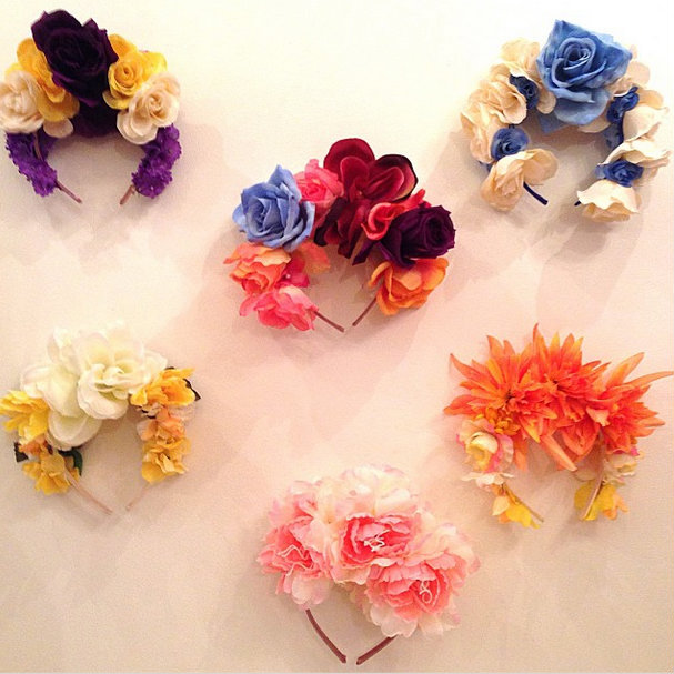 Lady Petrova Flower Crowns. Available in store or enquire online.,