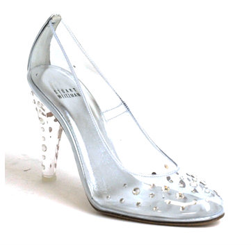 Asteroid Shoes by Stuart Weitzman (used in the stage production of Cinderella) Image Via