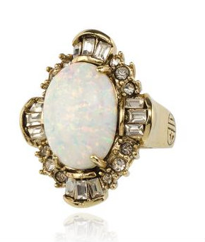 Samantha Wills Fine China Art Ring. Available here.