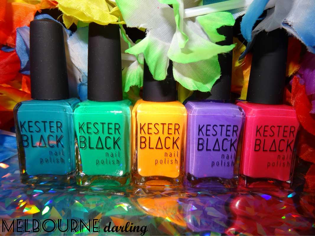 Kester Black Tropicana Range