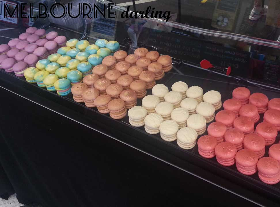 Macarons from Macaron De Paris at The Night Market