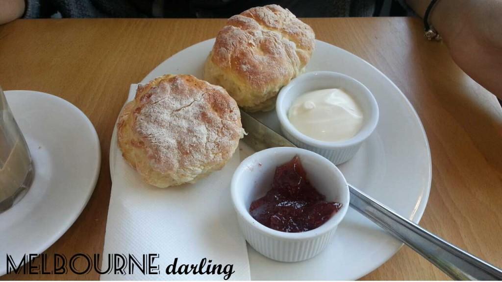 Devonshire Tea Scones at Syrup Watsonia