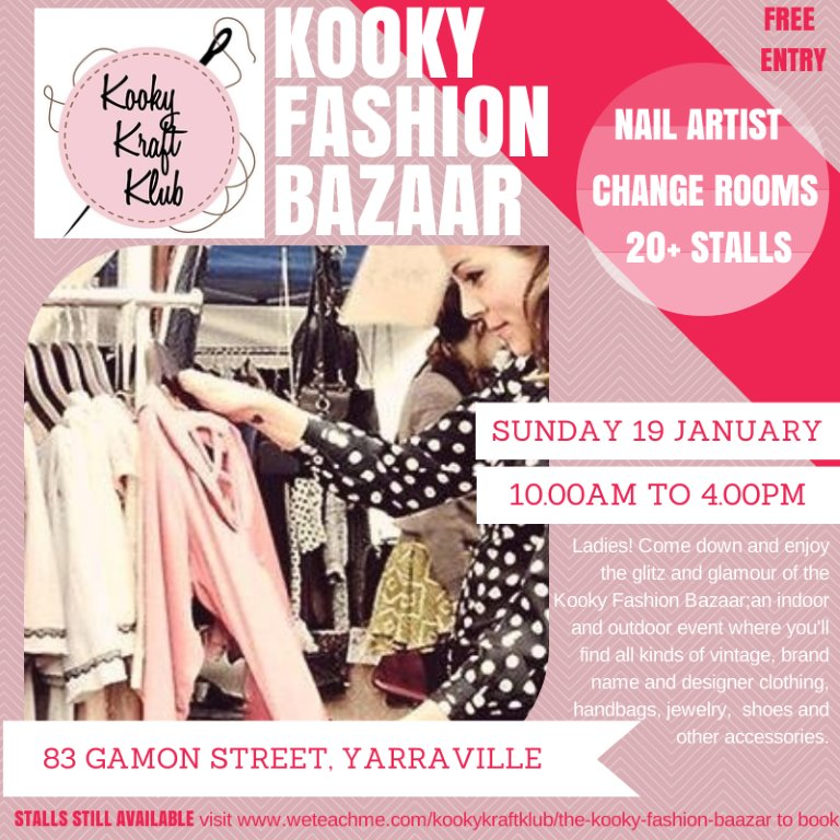 Kooky Kraft Klub Fashion Bazaar