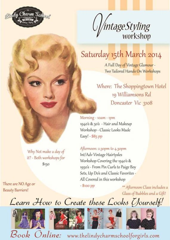 Melbourne Vintage Styling Workshop