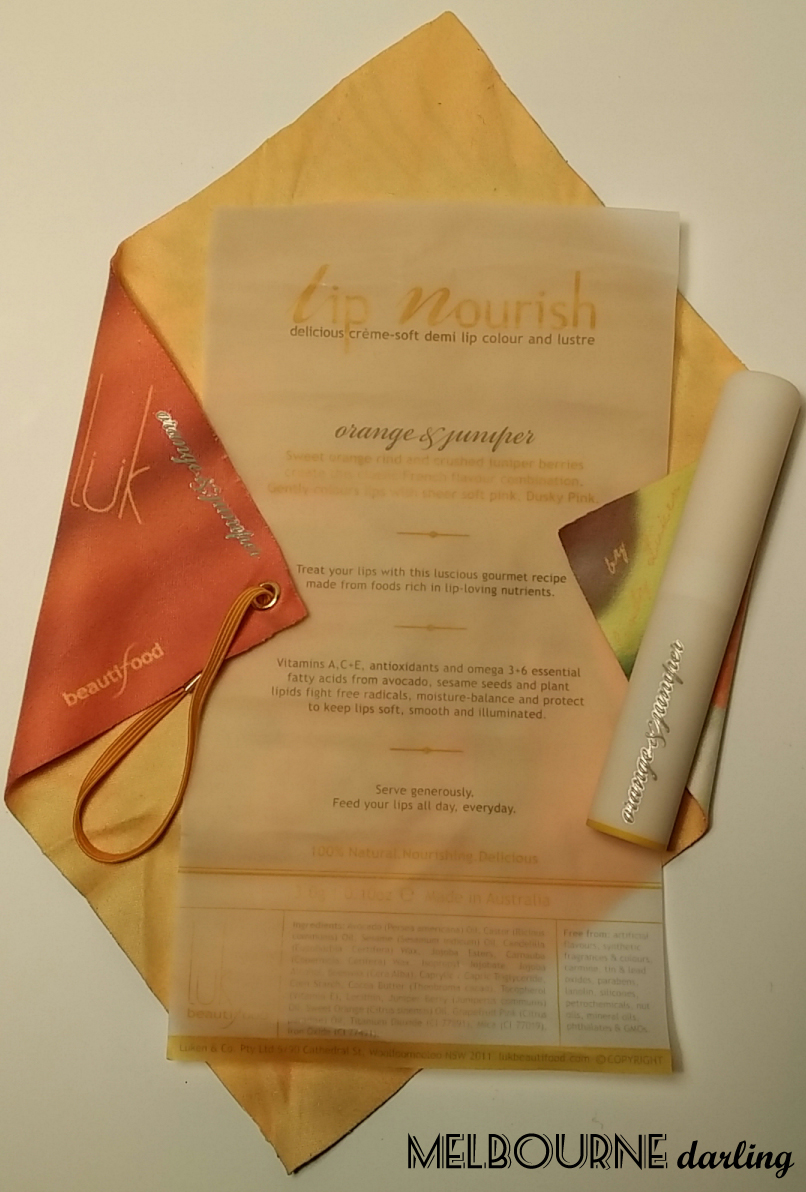 Lip Nourish Packaging Unwrapped