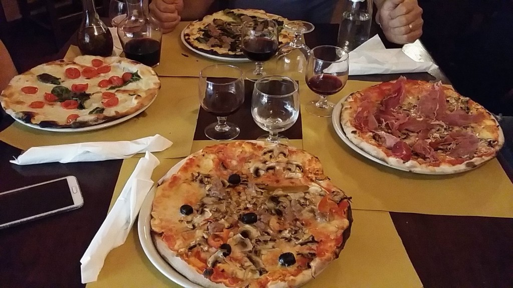 Pizza from Alle Carrette, Rome
