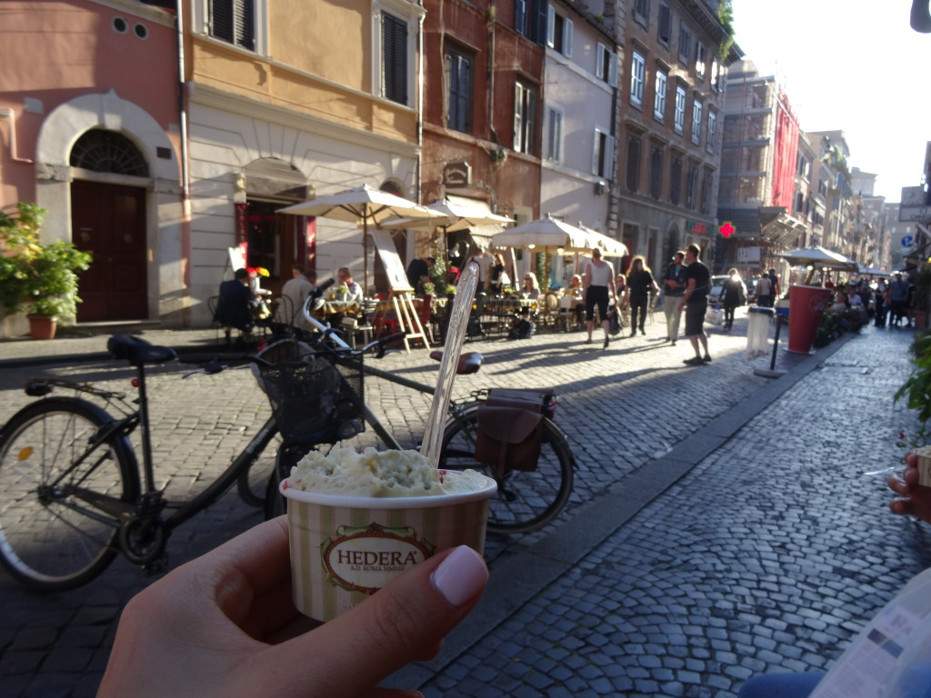 Gelati from Hedera Sweetness & Co. Rome