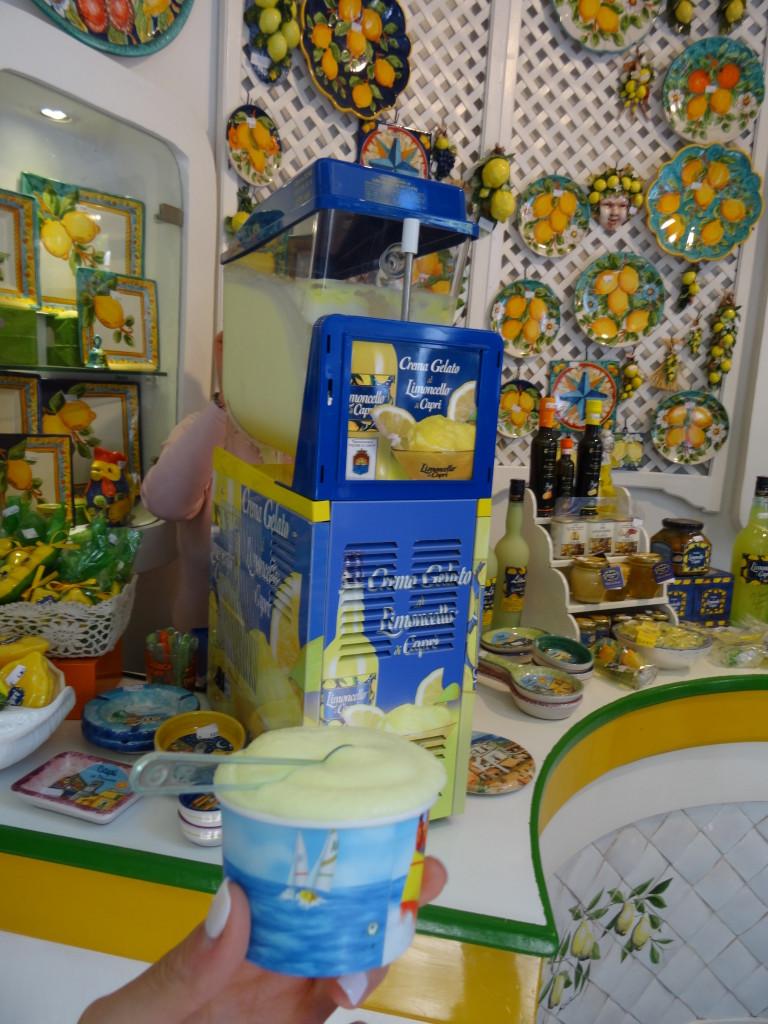 Limoncello store, Anacapri