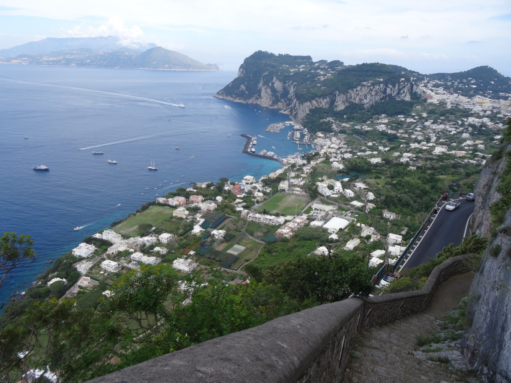 The Phoenician Steps, Island of Capri