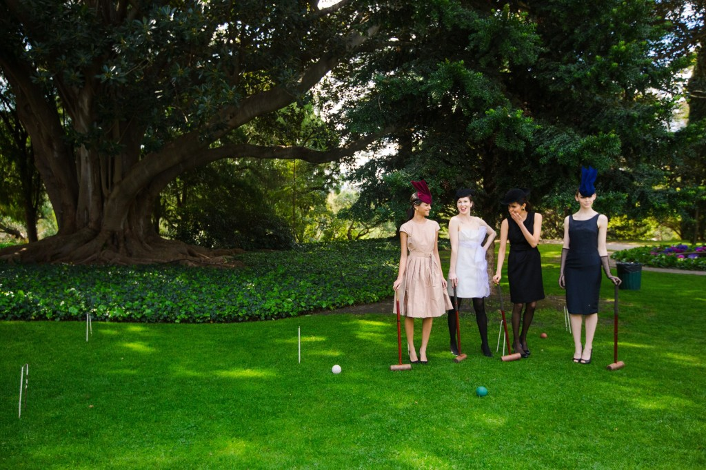 Croquet Lawn at the Como House and Garden