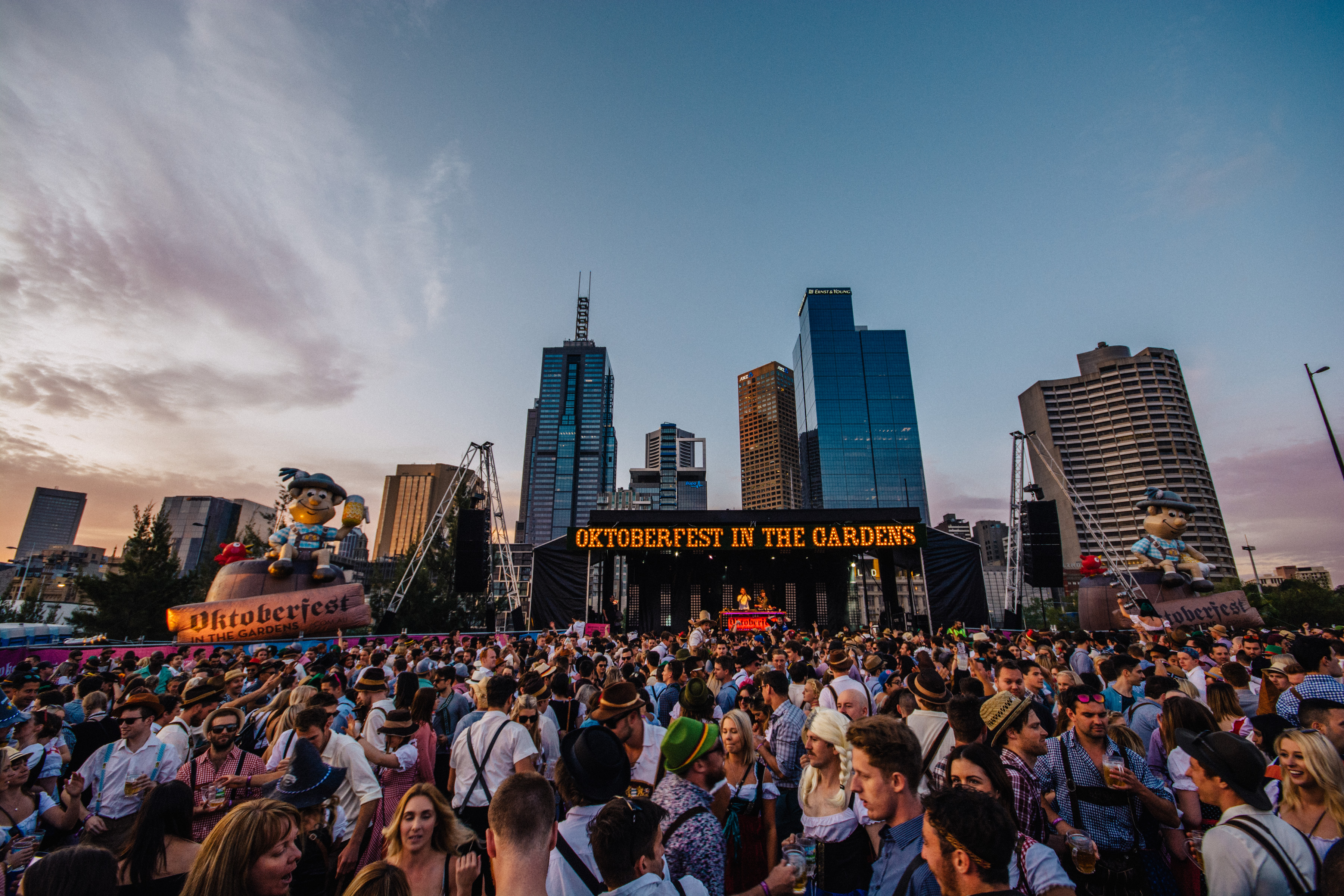 Oktoberfest in the Gardens 2016, Beer lovers unite for ...