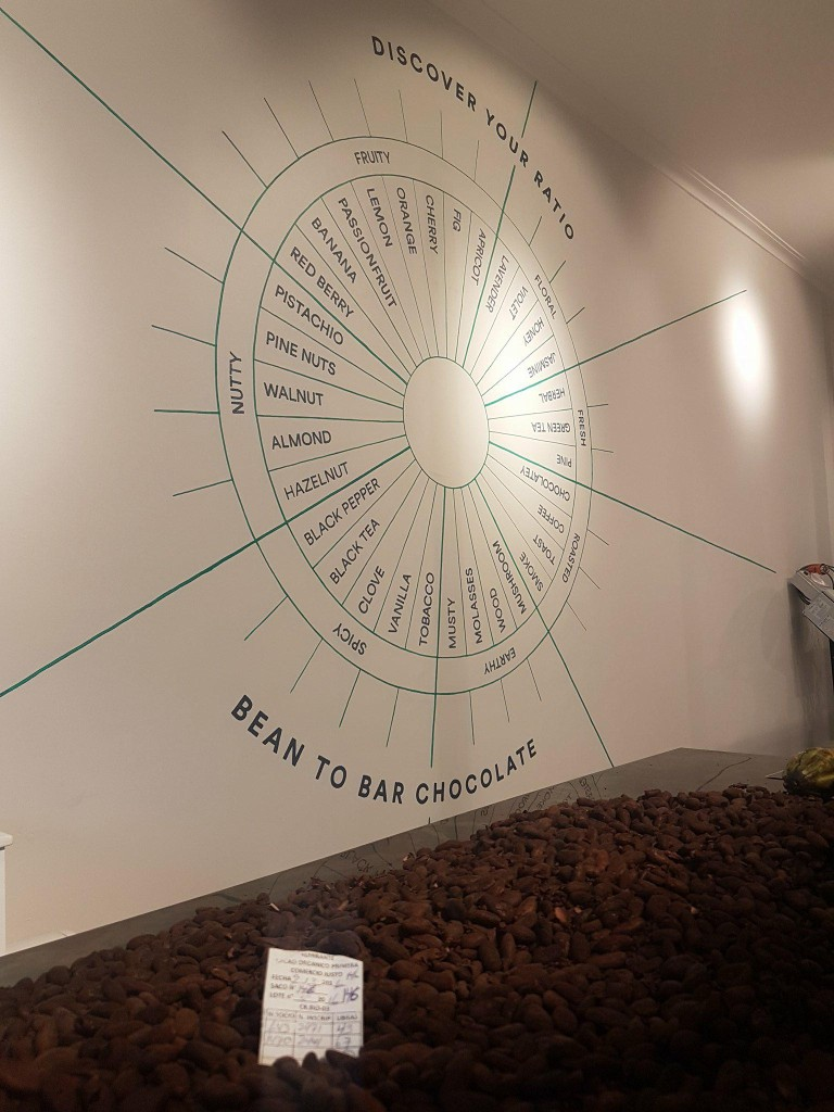 Discover your preferred chocolate flavour profile with the Ratio Roastery Chocolate factory tour